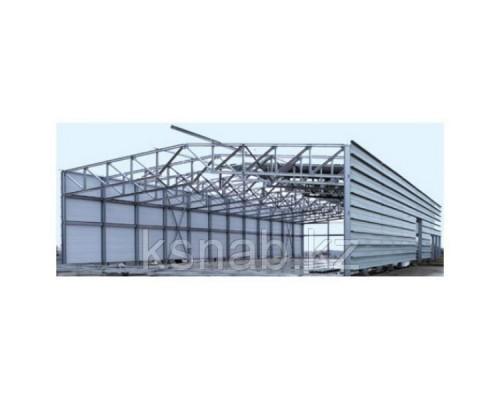 Здание быстромонтируемое на металлокаркасе